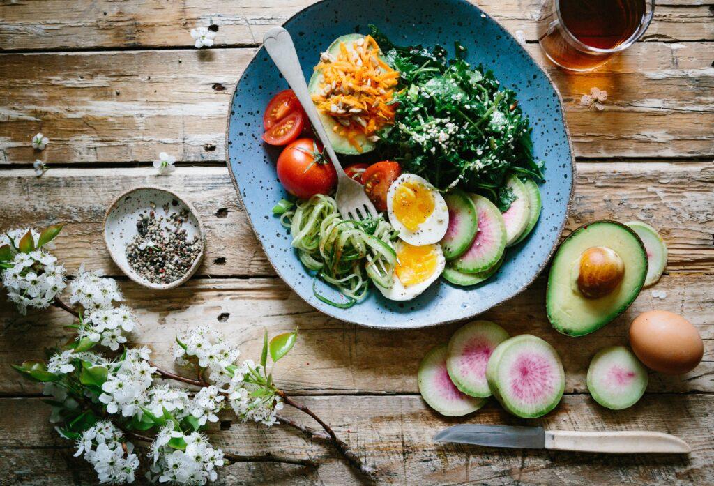 food detox in rural retreat